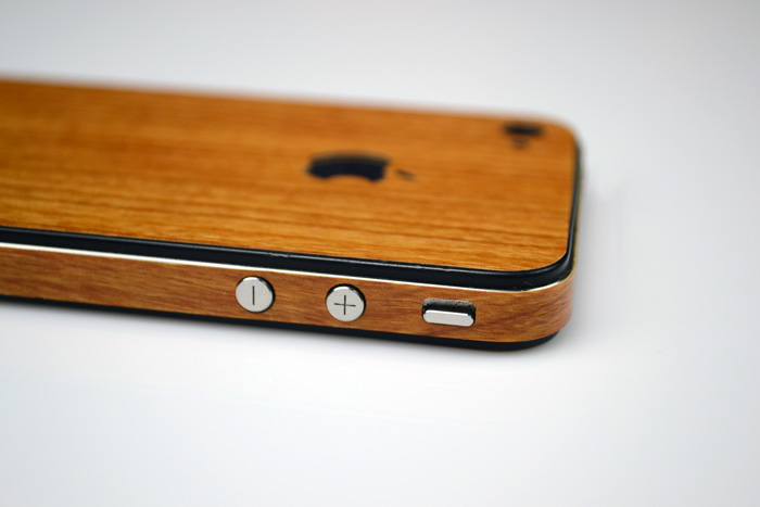 wood skin iphone 1